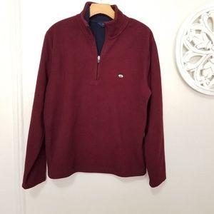 Brooks brothers size M fleece sweater